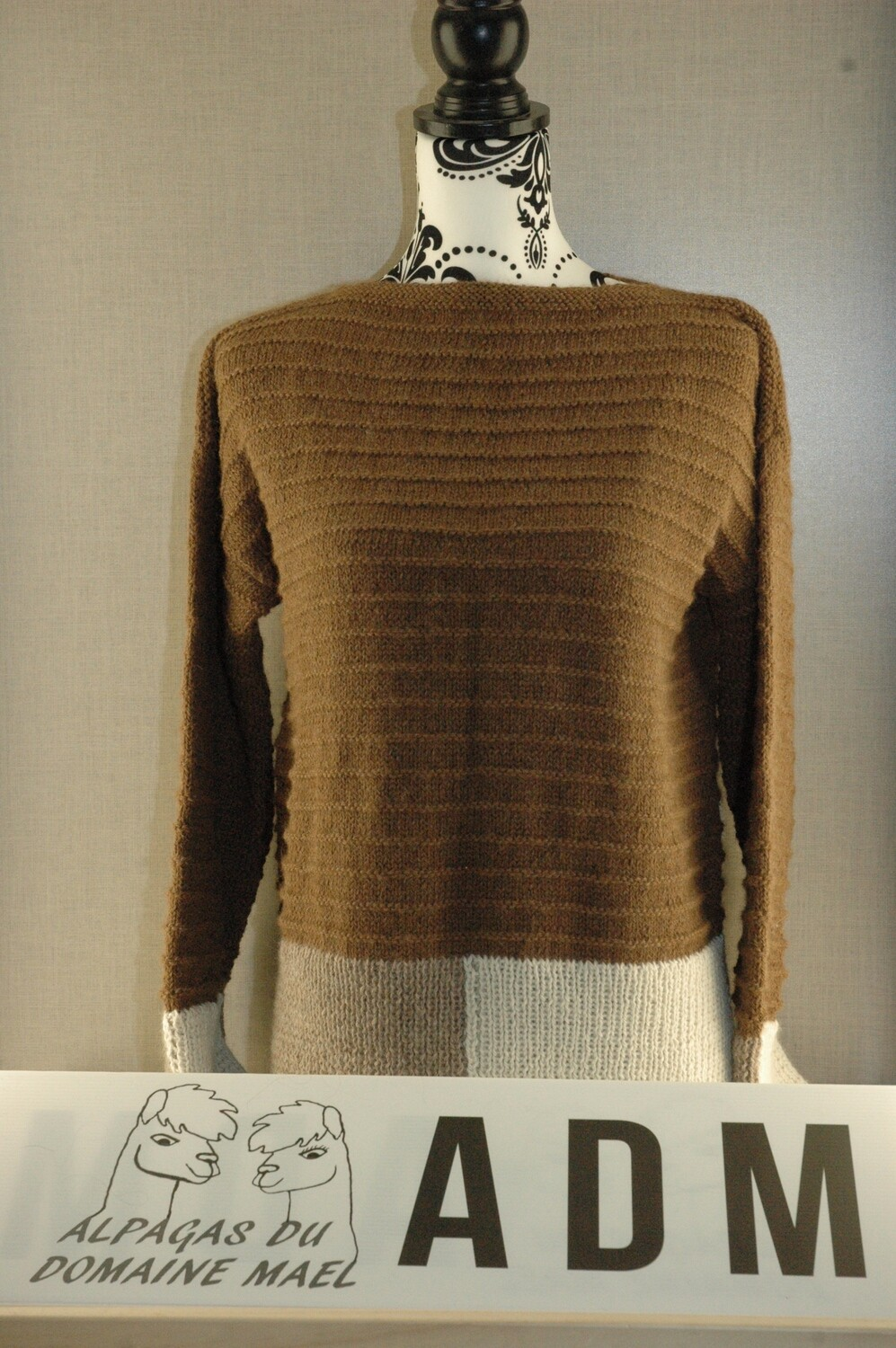 Pull tri laine femme Taille 4