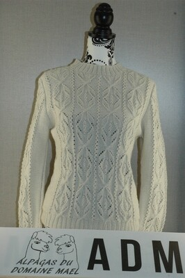 Pull écru femme Taille S