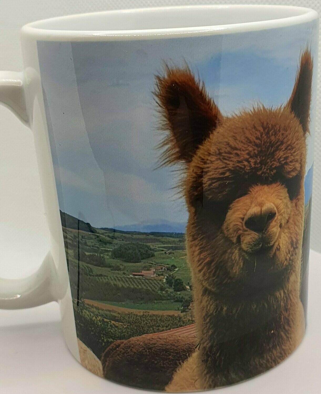 Mug avec un alpaga