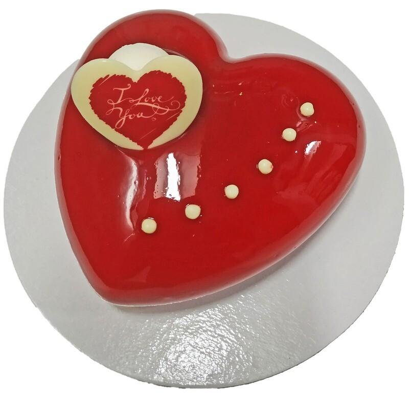 Corazón de San Valentín grande (5 raciones)