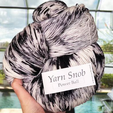 Barcode - Worsted Power Ball!