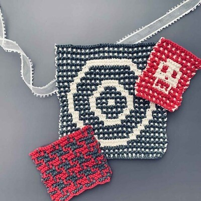 Modern Mosaic Knitting with Melissa Leapman on Saturday (10/24) 6-8PM Eastern