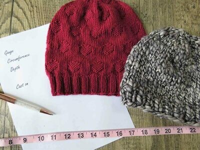 Design It: Knit Hats with Shaina Bilow on Saturday (10/24) 10-Noon Eastern