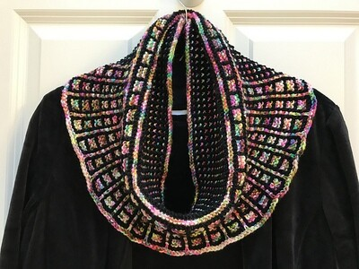 Dissent Cowl (Black and Happiness)