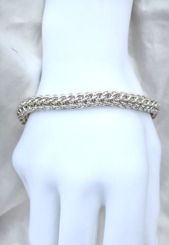 Kraftig Armbånd i sølv