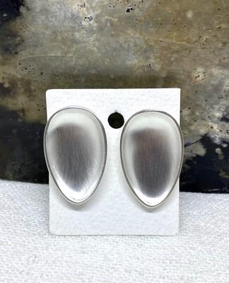 Sølvskje Ørepynt