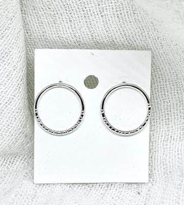 Øreringer i sølv