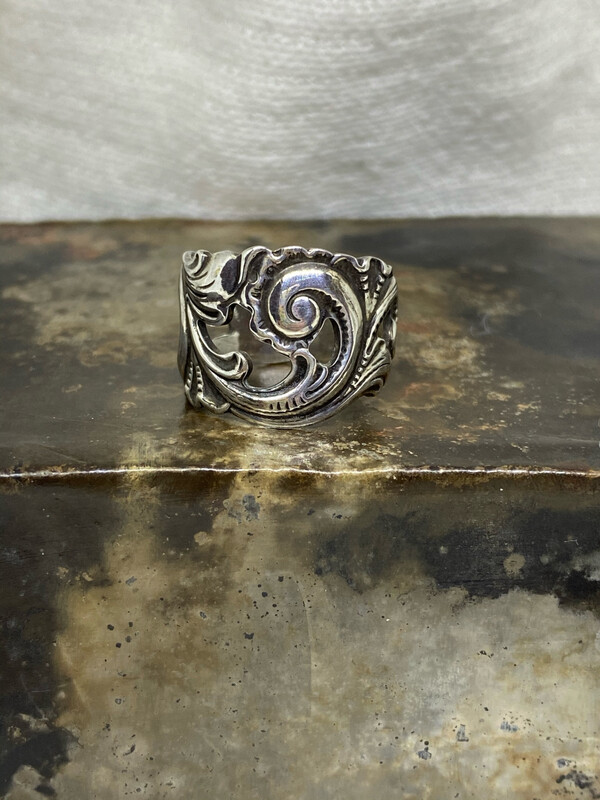 Sølvbestikk ring