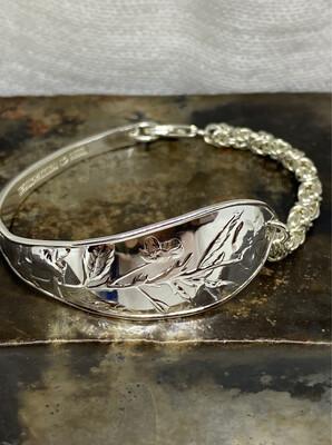 Sølvbestikk Armbånd I Sølv