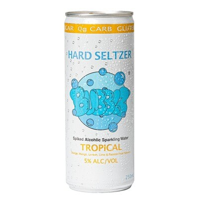 BUBBLZ Hard Seltzer Tropical - Probierset