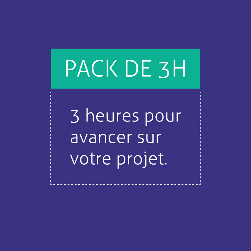 Pack de 3h