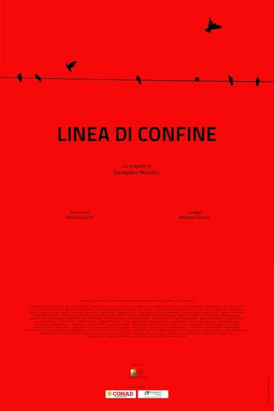 POSTER FILM LINEA DI CONFINE 50X75