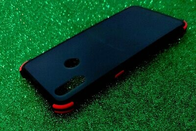 Realme 3 Pro Translucent Luxury Matte Case with Soft Bumper Frame Slim Fit Protective Case Cover Designed for Realme 3 Pro [Smooth Matte Feel Touch] Smoke Black