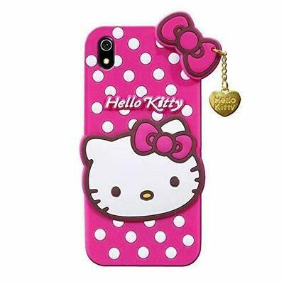 Hello Kitty Back Case Cover for Xiaomi Redmi 7A| 3D Cute Hello Kitty Case