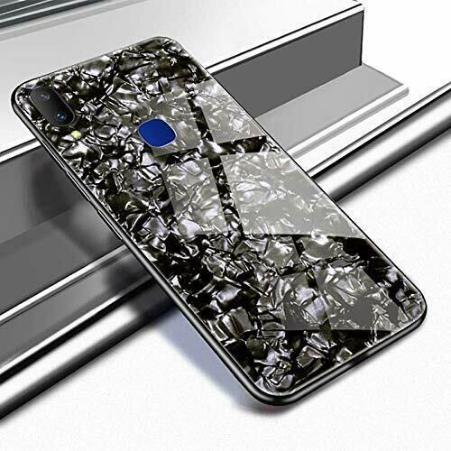 Plastic Back Cover for Xiaomi Redmi Note 7S/ Mi Note 7(Pitch Black)