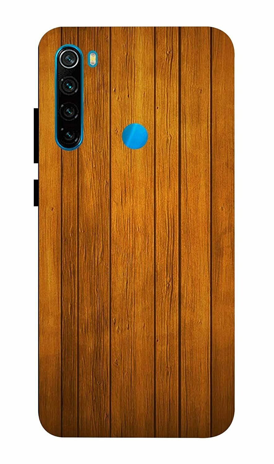 Designer Back Case Cover for Xiaomi Redmi Note 8 - Wooden Pattern Design