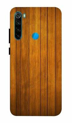 Designer Back Case Cover for Xiaomi Redmi Note 8 - Wooden Pattern Design