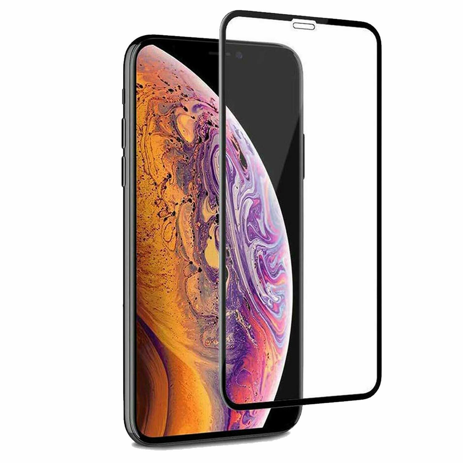 OpenTech Tempered Glass Screen Protector Compatible for iPhone XR / 11 with Edge to Edge Coverage and Easy