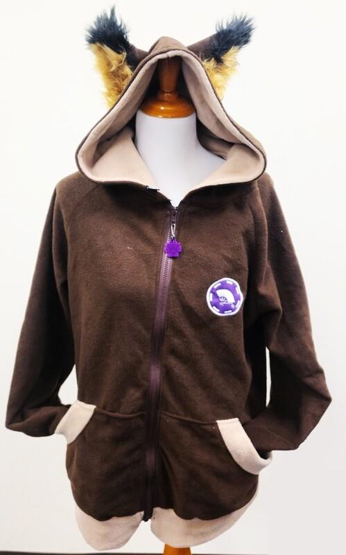 Ace Sleeve Zipper Hoodie by Pawstar