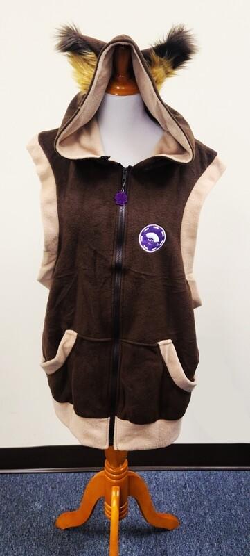 Ace Sleeveless Zipper Hoodie by Pawstar