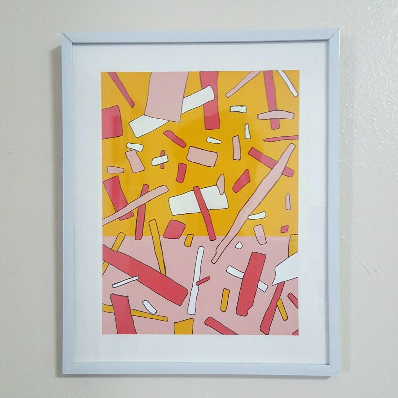 december in maui (framed)