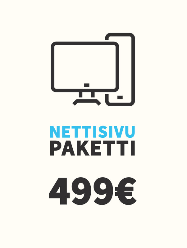Nettisivu -paketti