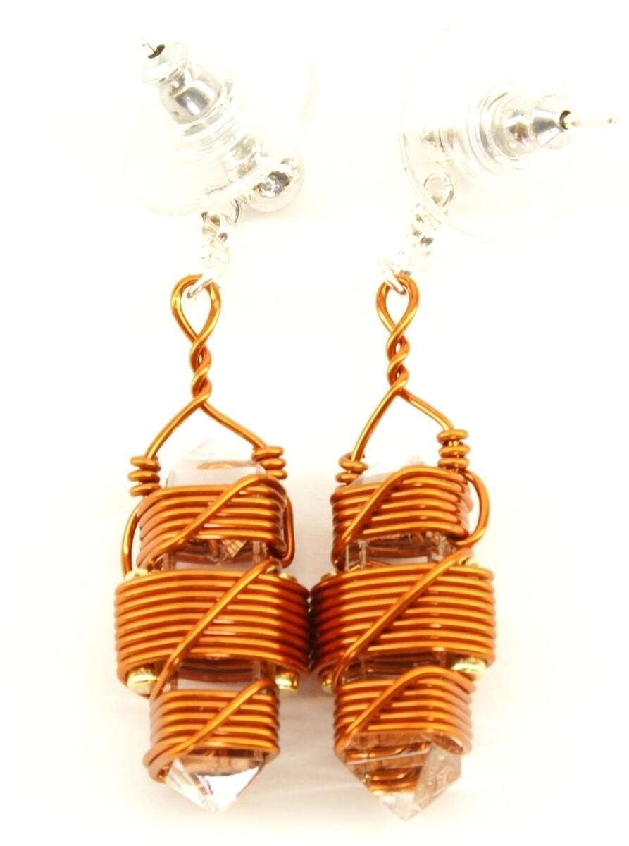 "Buddha Maitreya the Christ 7/8"" Etheric Weaver Earrings"