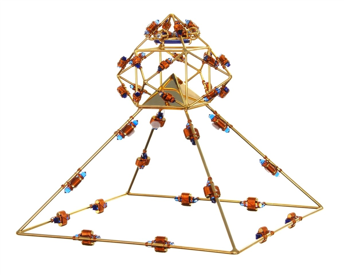 Buddha Maitreya the Christ Shambhala Solar Ascension Crystal Head Pyramid - 36