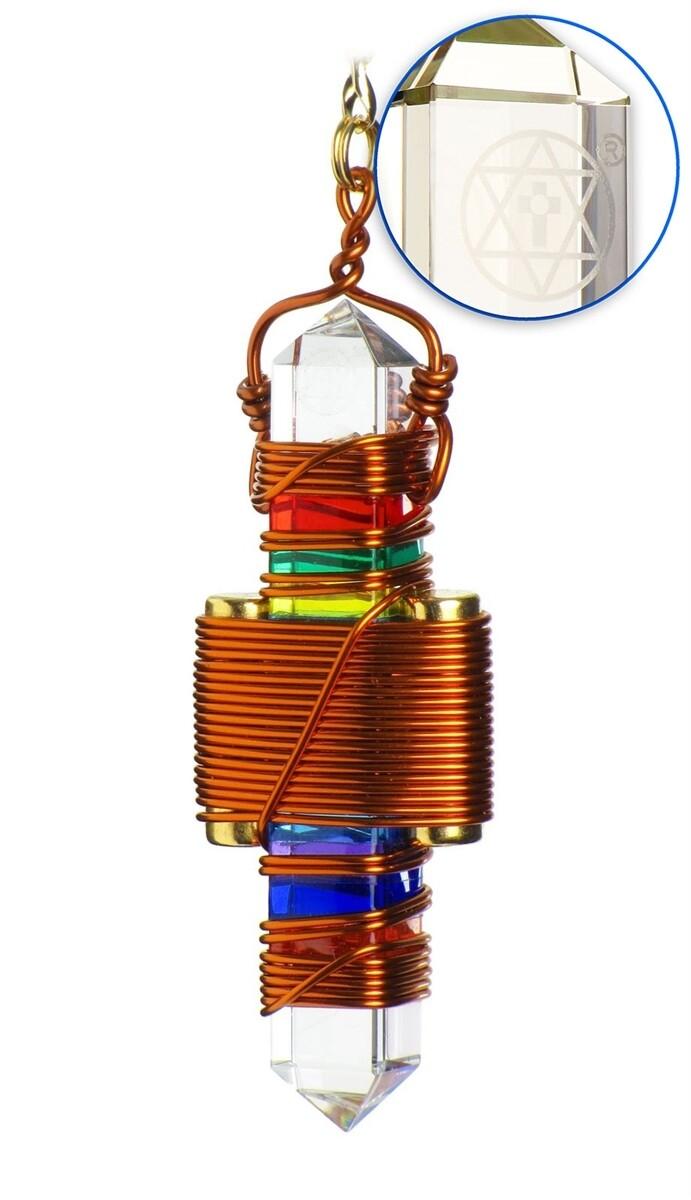 "Buddha Maitreya the Christ 2.5"" Etheric Weaver in Copper - 7 Rays of God Gel"