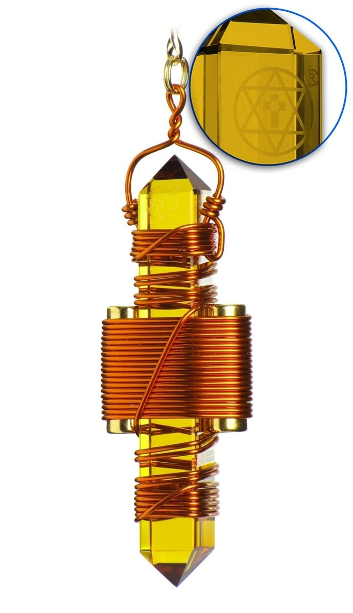 "Buddha Maitreya the Christ 2.5"" Etheric Weaver in Copper - Gold Siberian Quartz"