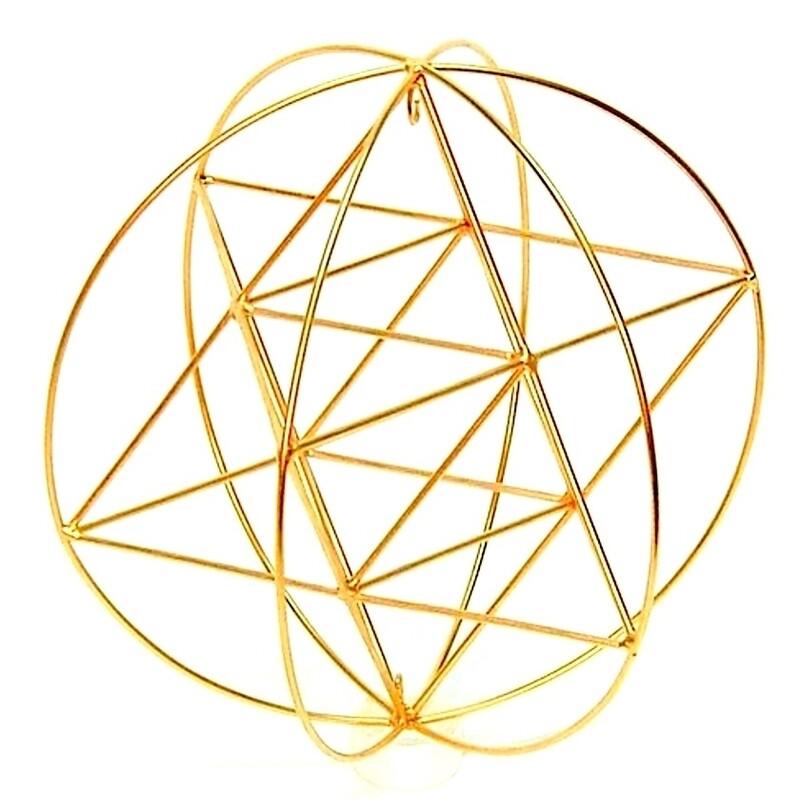 Star Tetrahedron Orb - Large