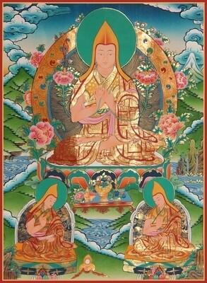 Tsong Khapa Poster - Poster Print