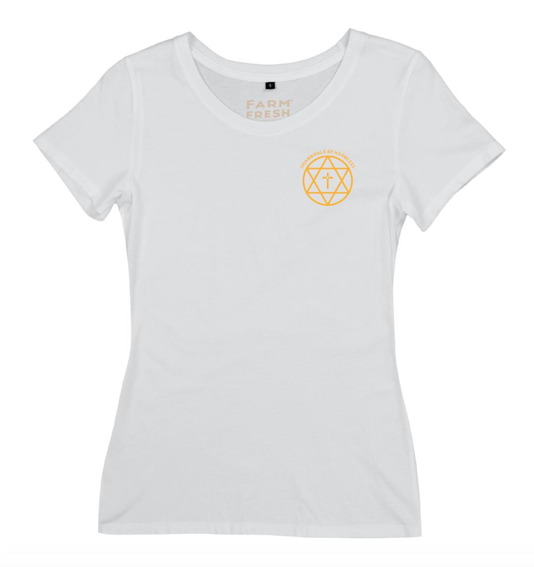 T-Shirt Shambhala Be Harmless - Women