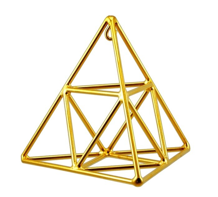 Tetrahedron with Octahedron - Med