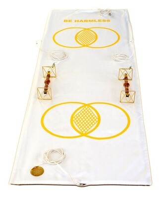 Buddha Maitreya the Christ Metatron Mat System with Solar Vajras - full-length