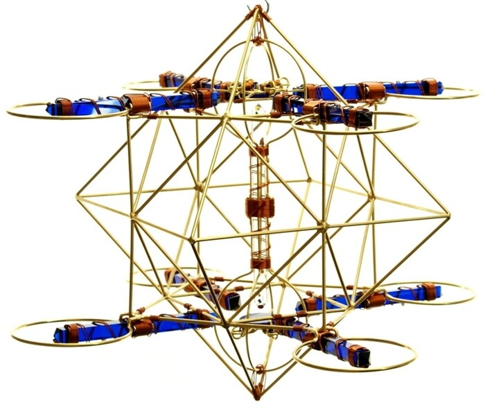 Buddha Maitreya the Christ - Large Maitreya Solar Cross with 2 Solar Forms