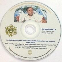 OM Meditation Teaching Buddha Maithrea the Yogi Christ Soul Therapy Meditation - CD (25-pack)