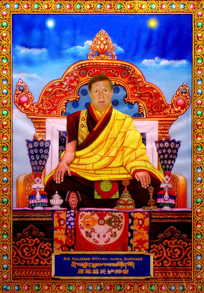 Buddha Maitreya the Chirst's Nepal Monasteries - Poster Print
