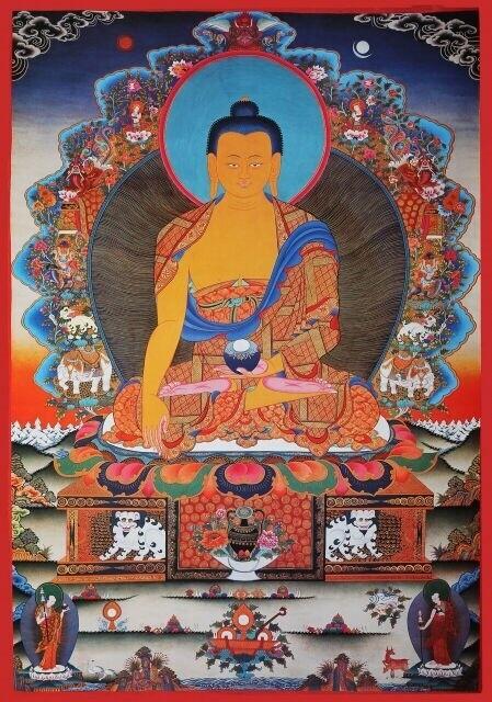 Buddha Shakyamuni Poster - Poster Print