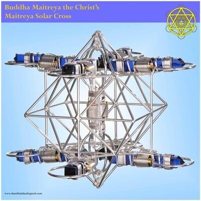 Maitreya Solar Cross - Poster Print