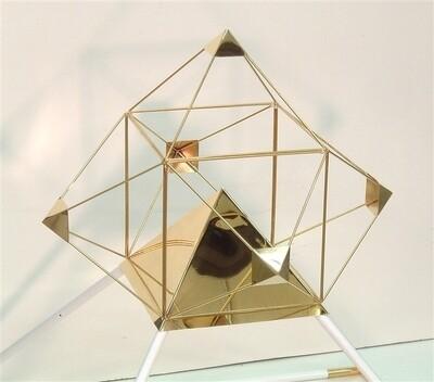 Meditation Pyramid Solar Orb