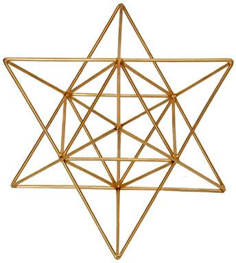 Star Tetrahedron with Octahedron - Medium