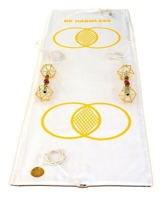 Buddha Maitreya the Christ Metatron Mat System with Metatron Vajras - full-length