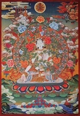 White Tara - Poster Print