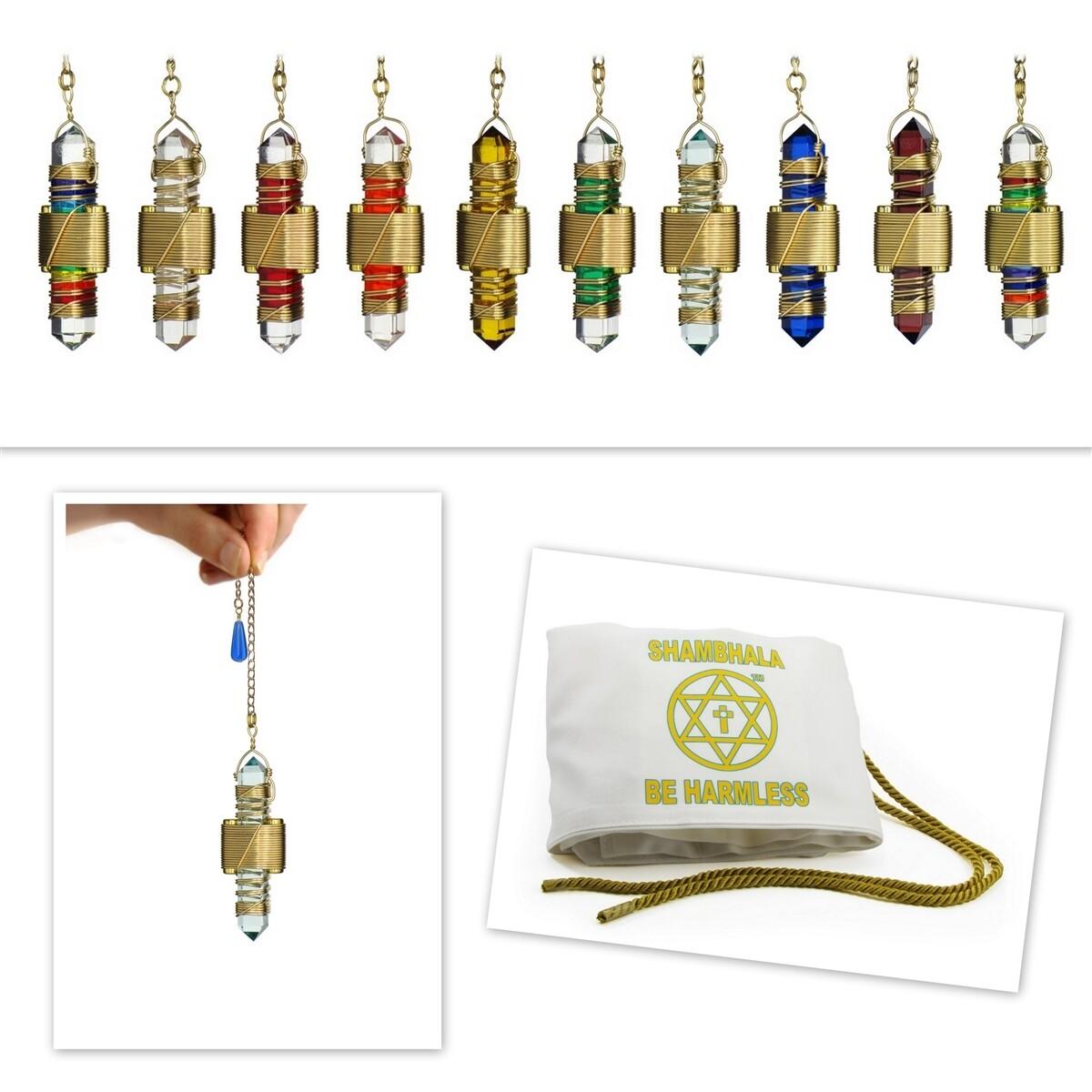 "Buddha Maitreya the Christ 2.5"" Etheric Weaver - 10 Set in Gold"