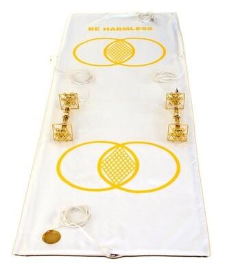 Buddha Maitreya the Christ Metatron Mat System with Shambhala Solar Vajras - full-length