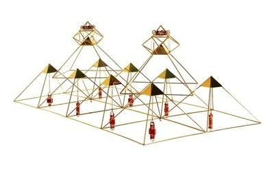 Buddha Maitreya the Christ Pyramid Grid - Medium