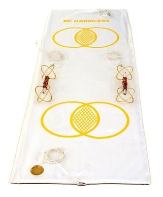 Buddha Maitreya the Christ Metatron Mat System with Buddha Maitreya the Christ Sky Vajras - full-length