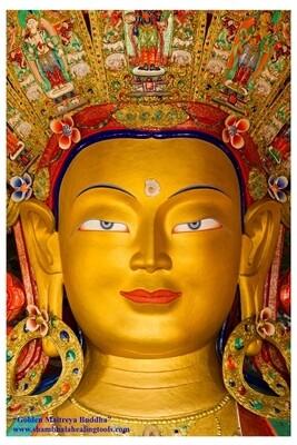 Maitreya Buddha - Poster Print