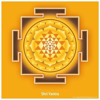 Sri Yantra - Poster Print